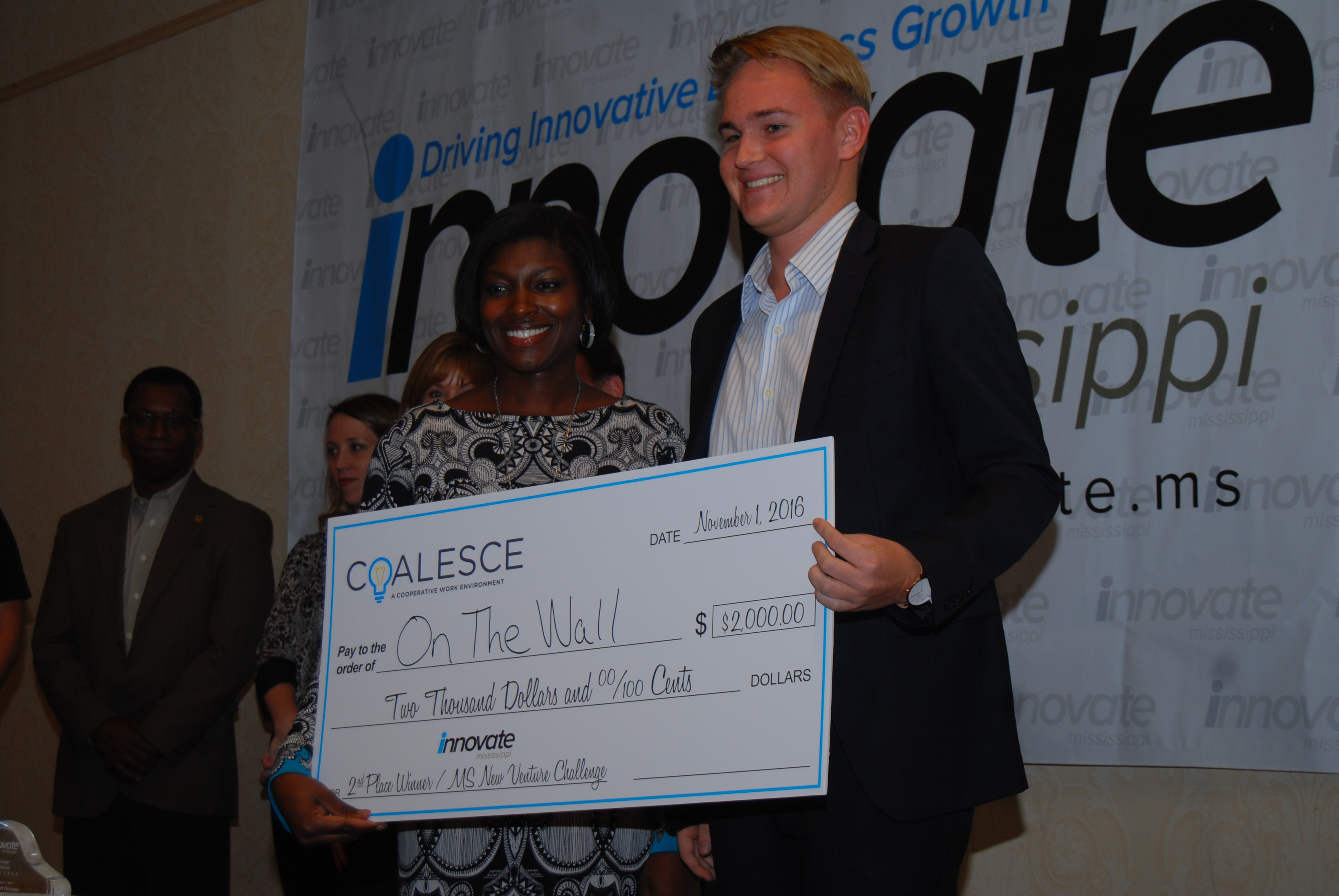 On the Wall - Mississippi New Venture Challenge